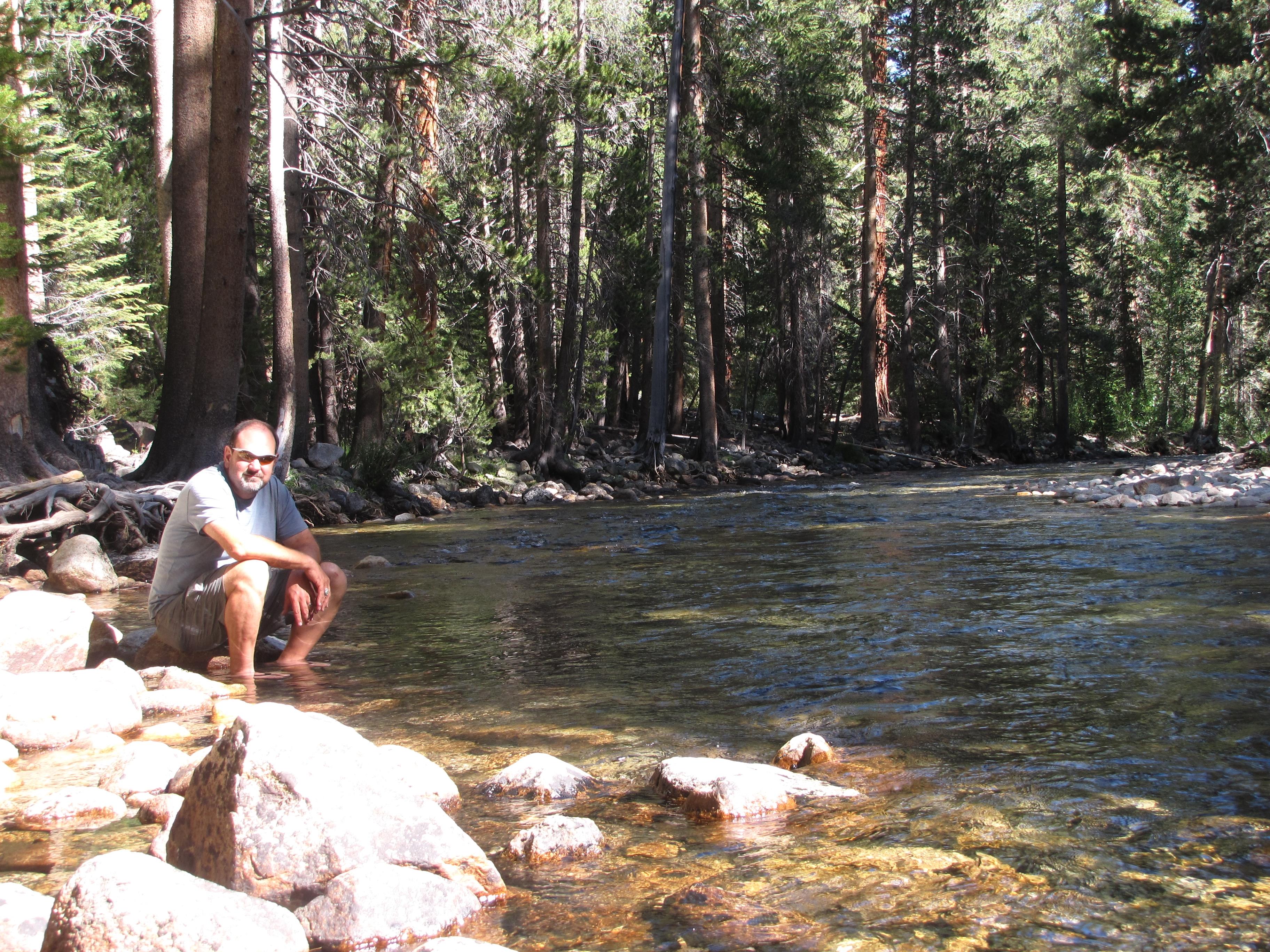 Trans-Sierra death march: The High Sierra Trail, part 1