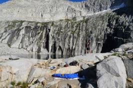 Precipice Lake campsite